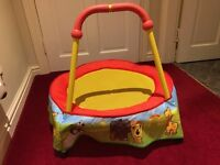 Toddler Trampoline - Indoor Use - SOLD pending collection