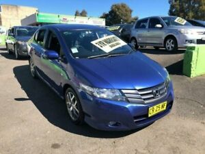 2010 Honda City GM MY10 VTi Blue Automatic Sedan Lidcombe Auburn Area Preview