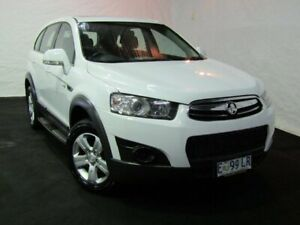 2013 Holden Captiva CG Series II MY12 7 SX White 6 Speed Sports Automatic Wagon Derwent Park Glenorchy Area Preview