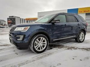 2017 Ford Explorer XLT Leather, Nav, Sunroof