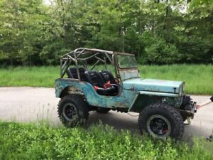 Looking for jeep body