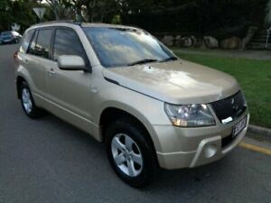 2007 Suzuki Grand Vitara JT MY07 Upgrade (4x4) Gold Metallic 5 Speed Manual Wagon