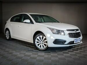 2015 Holden Cruze JH Series II MY15 Equipe White 6 Speed Sports Automatic Hatchback Maddington Gosnells Area Preview