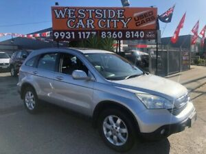 2009 Honda CR-V MY07 (4x4) Luxury Silver 5 Speed Automatic Wagon Hoppers Crossing Wyndham Area Preview