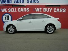 2013 Holden Cruze JH Series II MY13 CDX White 6 Speed Auto Sports Mode Sedan Welshpool Canning Area Preview