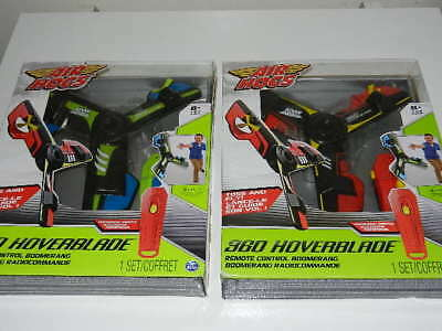 Air Hogs Remote Control - one New AIR HOGS Red or Green 360 Hoverblade RC Remote Control Boomerang airhogs