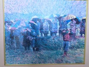 "Larry Winborg's ""Gallery In The Rain"""