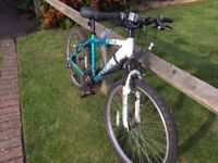 WOMEN'S APPOLO TWILIGHT MOUNTAIN BIKE IN GOOD CONDITION - 17 INCH FRAME