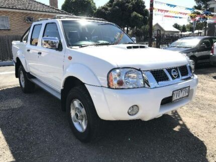 2011 Nissan Navara D22 Series 5 ST-R Special Edition (4x4) White 5 Speed Manual Dual Cab Pick-up Geelong Geelong City Preview