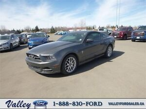 PREMIUM V6 COUPE with PONY PACKAGE! 2014 Ford Mustang Auto