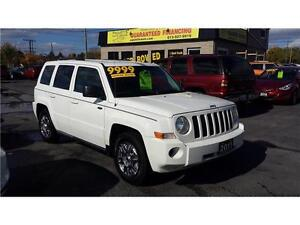 2010 Jeep Patriot North Edition GAURANTEED FINANCING
