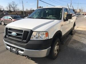 2007 FORD F150 WHITE / 4X4 /  NO ACCIDENT / $3500