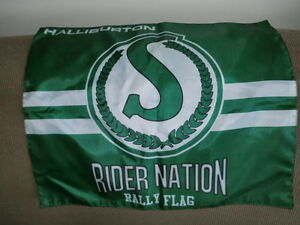 Rider Nation flag $4.00.