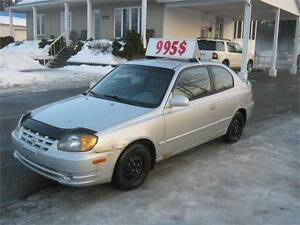 Hyundai Accent GS 2004 PETIT BUDGET !!!