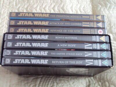 Star Wars Original Trilogy&Prequel Trilogy.DVD 10 Disc Bundle