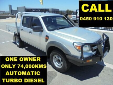 2011 Ford Ranger PK XL HI-Rider (4x2) Silver 5 Speed Automatic Dual Cab Chassis Ellenbrook Swan Area Preview