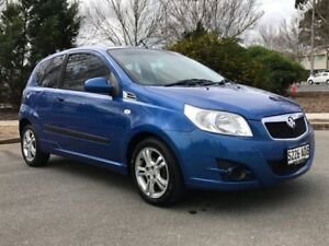 2009 Holden Barina TK MY09 Blue 5 Speed Manual Hatchback Somerton Park Holdfast Bay Preview