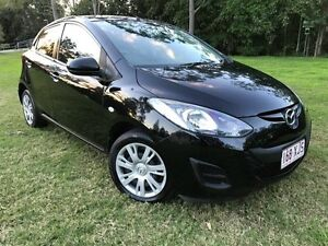 2012 Mazda 2 DE10Y2 MY12 Neo Black 4 Speed Automatic Hatchback Herston Brisbane North East Preview