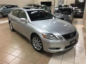2006 LEXUS GS 300 AWD*NAVI/CAMERA/BLUTOOTH/NO ACCIDENTS