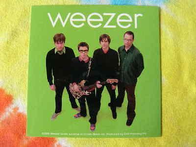 Weezer Group Sticker
