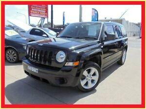 2012 Jeep Patriot MK MY2012 Sport Black 5 Speed Manual Wagon Holroyd Parramatta Area Preview