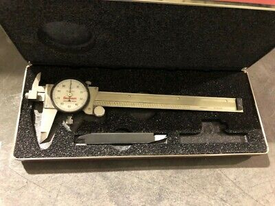 Starrett 120jz-6 Dial Caliper 65866 Made In The Usa