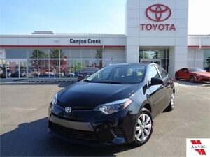 2015 Toyota Corolla ONLY 3,150KMS!! LE CVT ONE OWNER