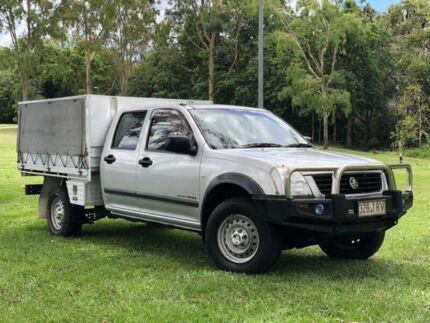 2005 Holden Rodeo RA MY05 LT Crew Cab Silver 5 Speed Manual Utility