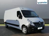 2016 Renault Master LM35dCi 125 Business+ Medium Roof Van Diesel white Manual