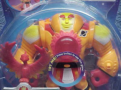 2007 PLANET HEROES ELECTRONIC SUN COMMANDER ACTION FIGURE FISHER PRICE MIP