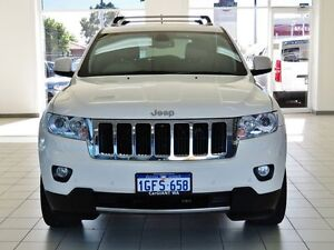 2012 Jeep Grand Cherokee WK MY12 Limited (4x4) White 5 Speed Automatic Wagon Morley Bayswater Area Preview