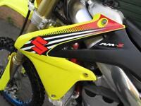 SUZUKI RMZ 450 FUEL INJECTION MOTO CROSS BIKE 2012