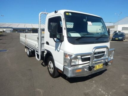 2010 Mitsubishi Canter  White Cab Chassis Greenacre Bankstown Area Preview
