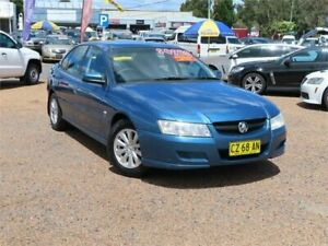 2005 Holden Commodore VZ Acclaim Blue 4 Speed Automatic Sedan