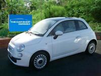 2011 FIAT 500 1.2 Lounge [Start Stop] ONE LADY PLUS FIAT GLASS ROOF