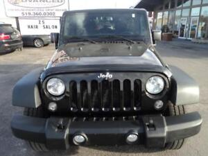 2015 Jeep Wrangler Unlimited Sport Trail Rated 4X4