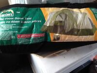 Escort 2 room dome tent - used only once, brand new condition!!