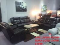 OVERSTOCK SALE ON SOFA SETS AND RECLINER SETS UPTO 70 % OFF