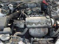 Honda Civic 1.4 Engine Code: D14A8 (2000) (petrol)