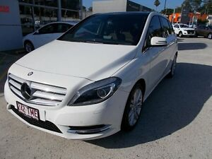 2013 Mercedes-Benz B200 W246 BlueEFFICIENCY DCT White 7 Speed Sports Automatic Dual Clutch Hatchback Buderim Maroochydore Area Preview
