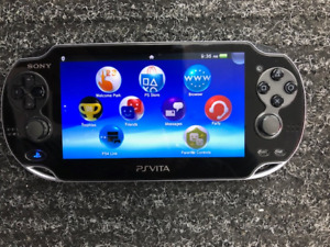 SONY PS VITA WITH CHARGER 4GB MEM CARD, ASSASSIN'S CREED GAME