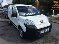 2012MY Peugeot Bipper 1.3HDi 75 S * Low Miles * 1 Owner * 60 MPG+ * NO VAT