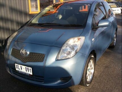 2007 Toyota Yaris NCP91R YRS 5 Speed Manual Hatchback Enfield Port Adelaide Area Preview