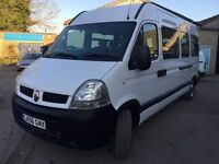 2006 Renault Master 16 seater mini bus, starts and drives very well, MOT until 15th December 2017, v