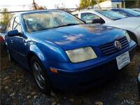 2001 VOLKSWAGEN JETTA**AUTO**FUEL EFFICIENCY**SUNROOF & MORE