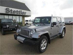 2014 Jeep Wrangler Unlimited Sahara 4x4 HEATED SEATS! NAVIGATION