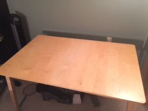 Kitchen Dining Room Table and 4 Chairs Ikea Expandable Table
