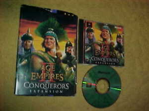 AGE OF EMPIRES THE CONQUERORS EXPANSION  W/MANUAL