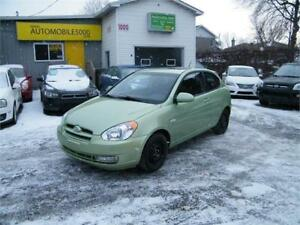 2008 HYUNDAI ACCENT SPORT GL . MAGS INCLUS. TOIT OUVRANT