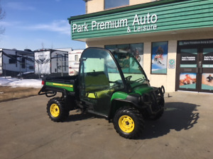 Only 109 bi-weekly!!JOHN DEERE GATOR 825I WITH EXTRAS!